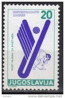Yugoslavia,For Universiade In Zagreb 1987.,MNH - 1945-1992 Socialist Federal Republic Of Yugoslavia