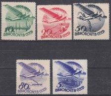 Russia USSR Airmail 1934 Mi#462-466 Mint Hinged - Ungebraucht