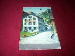 SUISSE ° GRUSS AUS LINTHAI   / HOTEL RABEN LE 16 09 1924 - Switzerland
