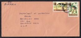 SIERRA LEONE  1983 Air Letter To USA  Birds SG 625, 630 - Sierra Leone (1961-...)