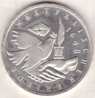 10 Mark 1998 J (HAMBOURG) Paix De Westphalia , En Argent - [ 7] 1949-… : FRG - Fed. Rep. Germany