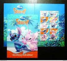 Thailand Personalized Stamp 2013 Disney Stitch - Thailand