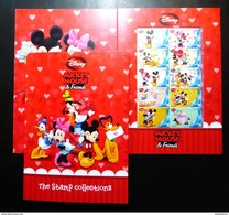 Thailand Personalized Stamp 2013 Disney Mickey Mouse & Friend - Thailand
