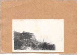 DEPT 01 - CPA DOS SIMPLE - SAINT SORLIN Et Le Vieux Chateau  - LYO1 - - Sonstige Gemeinden