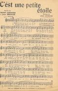 Partition 8 Chansons: J'ai Trouvé L'Amour, C'est Une Petite Etoile, Le Pêcheur De Lune, Quand Les Andouilles Voleront... - Partitions Musicales Anciennes