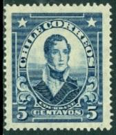 CHILE 1928-31 DEFINITIVES, 5c COCHRANE** (MNH) - Chili