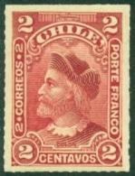 CHILE 1900-01 2c COLUMBUS TYPE I** (MNH) - Chili