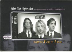Publicité 4 Pages , Musique ,musiciens , NIRVANA , With The Lights Out , Sortie : 2004 , Frais Fr : 1.95 E - Advertising