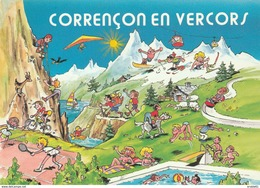 CPM 38 CORRENCON EN VERCORS HUMO 12 - Autres Communes