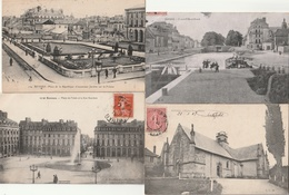 Lot De 7 CPA  RENNES  ( TTB état)  TI 836) - Rennes