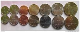 Slovakia Set Of 7 Coins 2000-2007 (10+20+50 Halierov + 1+2+5+10 Korun) UNC - Slovaquie