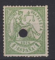 1874 Telégrafos Edifil 150T(º) Valor Catálogo 8,75€ - 1873-74 Regencia