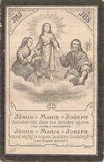 DP. DANIEL VANHOUTTE + MOERES (KERKELIJK ADINKERKE) 1919 - 10 JAAR EN 9 MAANDEN - Religione & Esoterismo