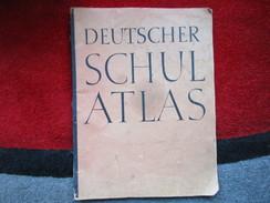 Deutscher Schulatlas / éditons De 1942 - Livres, BD, Revues