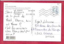 Y&T N°4768    ST PALAIS/MER       Vers  SUISSE 2015 2 SCANS - Frankrijk