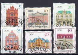 DDR   1434 - 1439   Gestempelt - DDR