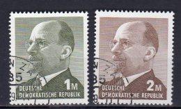 DDR   1481 - 1482   Gestempelt - Gebraucht