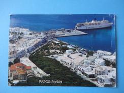 Grecia - Paros - Parikia - Nave Ship Ventouris Sea Line - Griechenland
