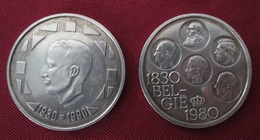 Lot 500 Francs 1980 Et 1990 Argent - 1951-1993: Baudouin I