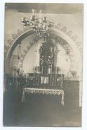 2874 Intérieur Chapelle Notre Dame De Meknès Mknas  Autel Vierge D'Hotelans Richard Chabod Famille - RARE - Meknès