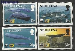 Saint Helena Island 2002 Mi 852-855 MNH ( ZS6 SHL852-855 ) - Sainte-Hélène