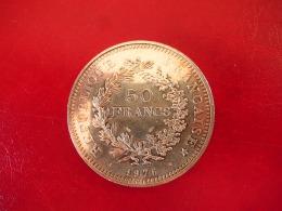 Argent - 50 Francs Hercule 1976 - SUP - M. 50 Francs