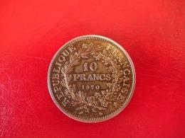 Argent - 10 Francs Hercule 1970 - TTB - K. 10 Francs