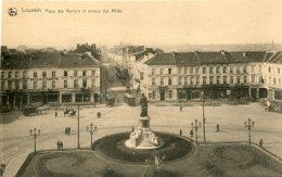 BELGIUM - Louvain - Place Des Martyrs Et Avenue Des Allies - Leuven