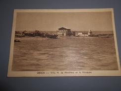 OBOCK Villa H De Monfreid Et La Mosquée Djibouti Ex Côte Française Somalie - Djibouti