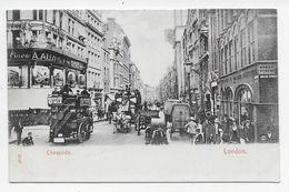 London - Cheapside - Stengel - Horse-drawn Buses - London