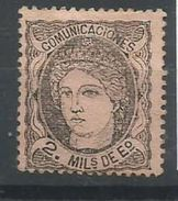 ESPAÑA EDIFIL 103 - 1868-70 Gobierno Provisional