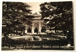RIOLO TERME - STAZIONE DI CURA E SOGGIORNO - PADIGLIONE CENTRALE DELLE CURE VIAGGIATA FG - Ravenna