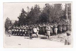 Le Défilé Des Troupes à La Croix De Wihr.68.Haut-Rhin.Carte Photo.20 Mai 1937. - Autres Communes