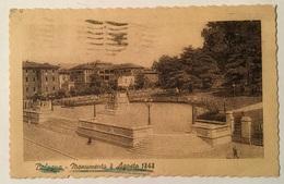 BOLOGNA MONUMENTO 8 AGOSTO 1848 VIAGGIATA FP - Bologna