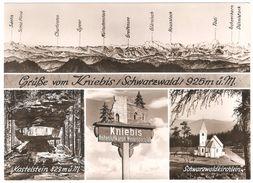 Kniebis - Grüsse Von Kniebis / Schwarzwald - Mehrbildkarte - Echt Bromsilber - Freudenstadt
