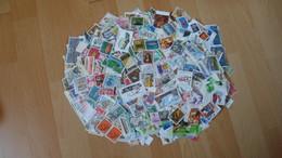1,6 Kilo - Deutschland 750 Gramm Papierfrei Und 850 Gramm Auf Papier - Timbres