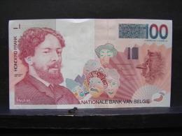 MW. 26. Cent Francs James Ensor. Neuf - [ 2] 1831-... : Belgian Kingdom