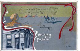 CIOCCOLATO TALMONE - Illustratore ROSSOTTI - VIAGGIATA - Werbepostkarten