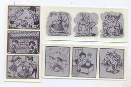 WELA - Abziehbilder, 3 Komplette Streifen - Vecchi Documenti