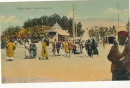 SYRIE  )) DAMAS   Place De Derwichiet  / ANIMEE - Syrie
