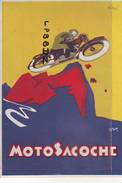 CPA - PUBLICITE - MOTOSACOCHE - SPORTS - MOTO - - Pubblicitari