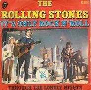 45T - THE ROLLING STONES - IT'S ONLY ROCK N'ROLL - Rock