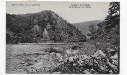 (RECTO / VERSO) SITES DE LA CORREZE EN 1921 - N° 23 - LE ROCHER DE VALETTE - BEAU CACHET - CPA VOYAGEE - Francia
