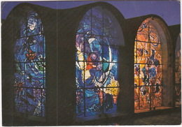 The Stained Glass Windows By Marc Chagall - Hadassah Hebrew University Medical Centre, Jerusalem  - (Israël) - Israël