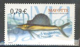 Mayotte 2003 - Neuf - Y&T N° 143 - L'espadon Voilier - Nuevos