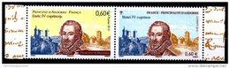 2012 FRANCE - ANDORRE FEUILLET PAIRE EMISSION COMMUNE HENRI IV COPRINCE NEUF** Tirage 35000 Ex - France