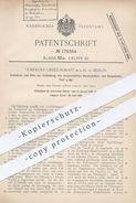 Original Patent - Torfkoks GmbH , Berlin , 1905 , Ofen Zur Verkokung Von Brennstoff , Braunkohle , Torf , Kohle | Koks - Historical Documents