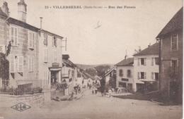 22 - Villersexel - ( Haute-Saone ) - Rue Des Fossés ( Editions C.L.B. Besançon ) Commerce Pharmacie - Other Municipalities