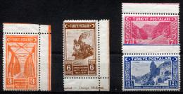 TURKEY 1939 - Mi.1059-1062 MNH (postfrisch) VF - 1921-... Republik