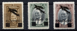 TURKEY 1942 - Mi.1110-1112 MNH (postfrisch) Perfect (VF) - 1921-... République